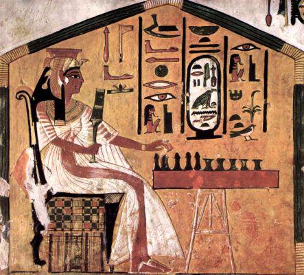 Gli scacchi nella pittura dall'antichità ai nostri giorni