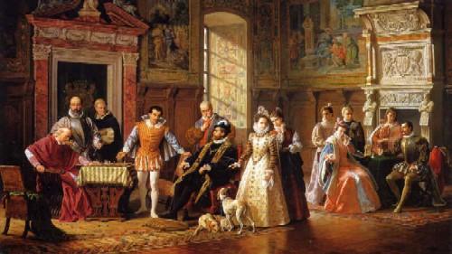 Il Matrimonio Romano Versione Latino : Gli scacchi nella pittura achille della ragione